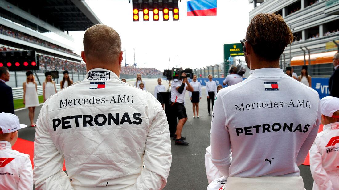 Bottas & Hamilton - GP Abu Dhabi 2018
