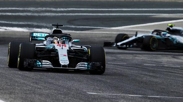 Bottas & Hamilton - GP Bahrain 2018