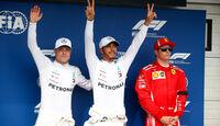 Bottas - Hamilton - Räikkönen - GP Ungarn 2018 - Qualifying
