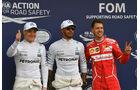 Bottas, Hamilton & Vettel - GP Australien - Melbourne - 25. März 2017