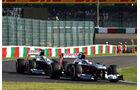 Bottas & Maldonado - Williams - Formel 1 - GP Japan - 12. Oktober 2013
