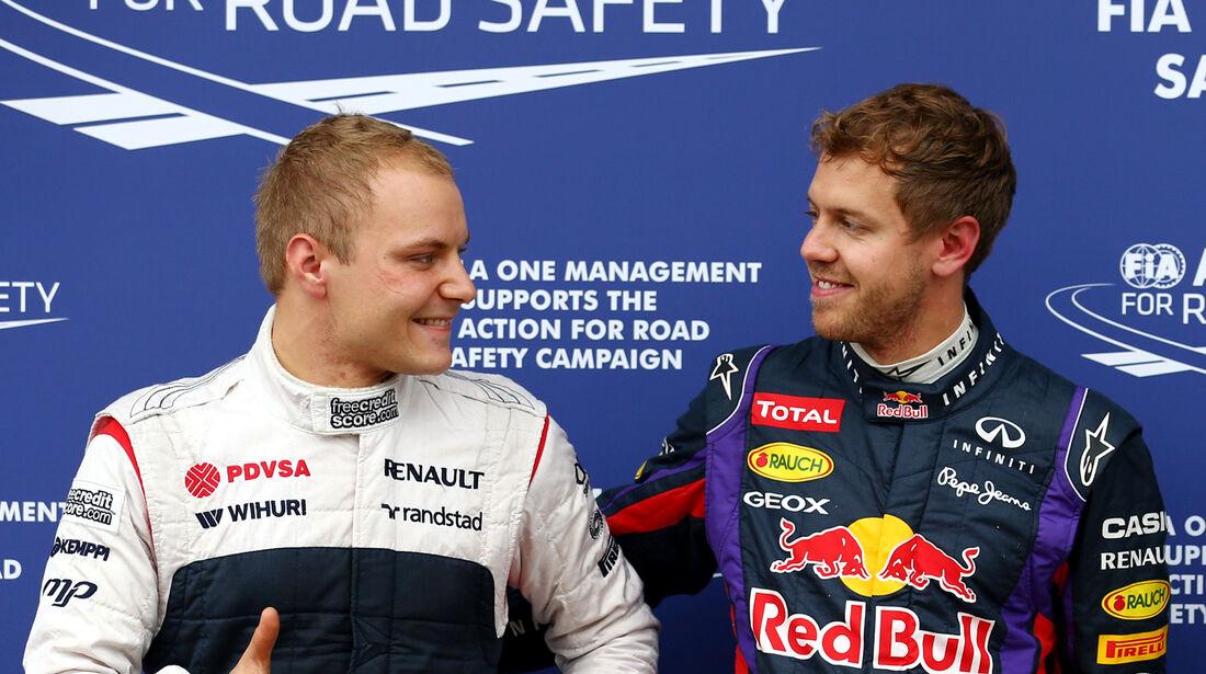 Bottas & Vettel GP Kanada 2013