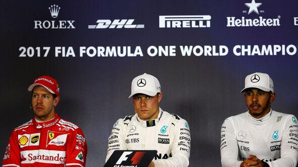 Bottas - Vettel - Hamilton - GP Österreich 2017 - Spielberg - Qualifying