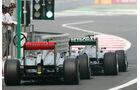 Boxenausfahrt - Formel 1 - GP Indien - 26. Oktober 2013