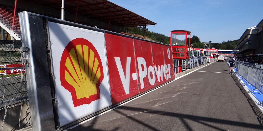 Boxengasse - Formel 1 - GP Belgien - Spa-Francorchamps - 22. August 2013