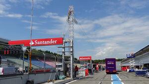 Boxengasse - Formel 1 - GP Deutschland - Hockenheim - 16. Juli 2014