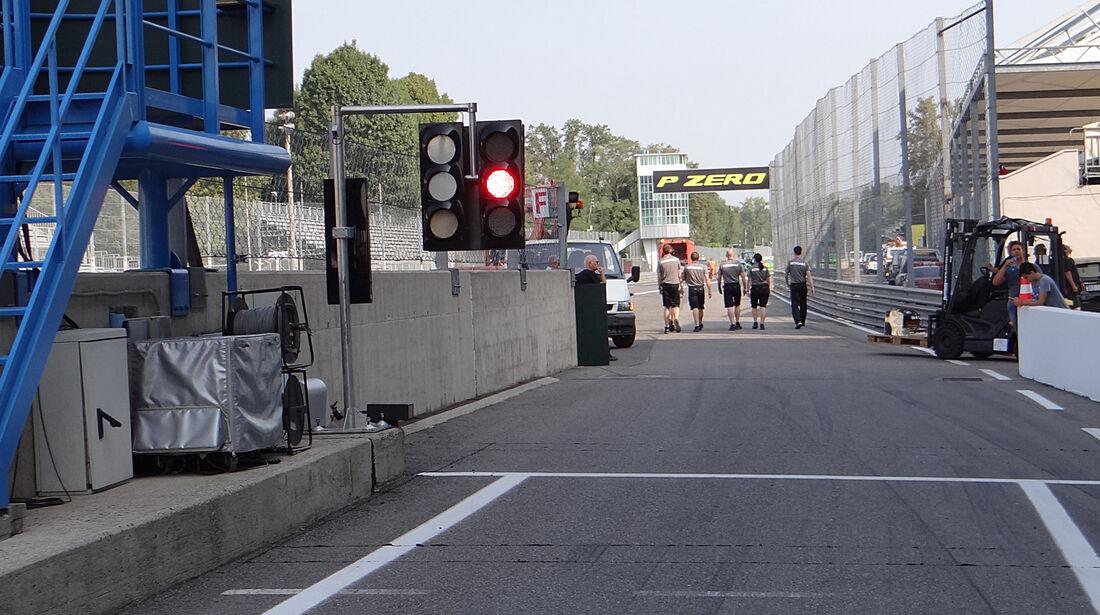 Boxengasse - Formel 1 - GP Italien - Monza - 5. September 2013