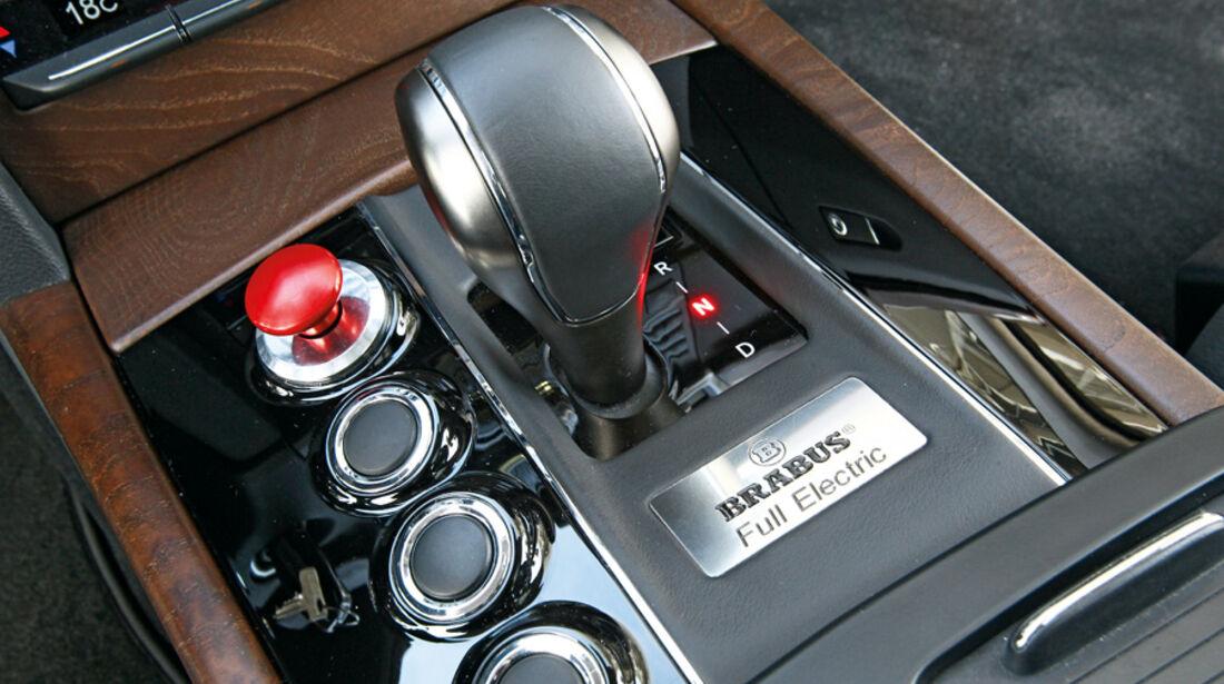 Brabus E4WD Full Electric, Schalthebel, Schaltknauf