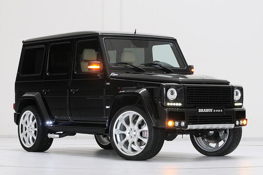 brabus mercedes g klasse auto motor und sport. Black Bedroom Furniture Sets. Home Design Ideas