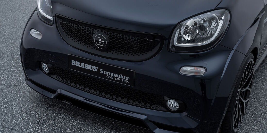 Brabus Smart Fortwo Cabrio Sunseeker One of Ten
