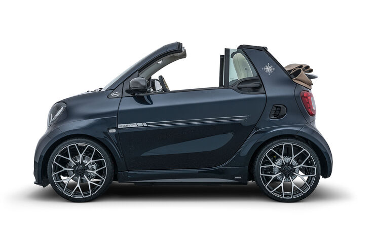 brabus smart fortwo cabrio sunseeker one of ten. Black Bedroom Furniture Sets. Home Design Ideas