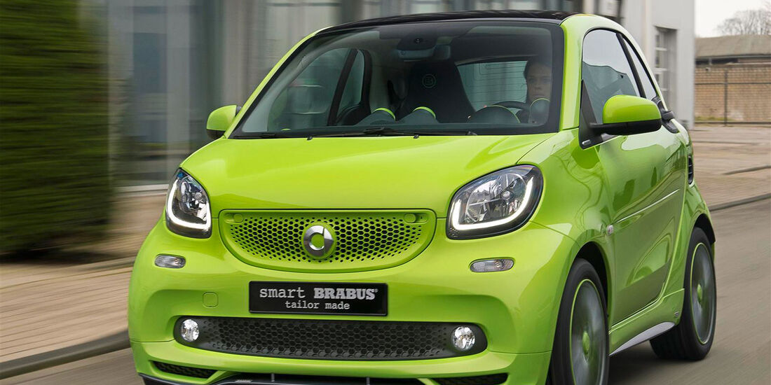 Brabus Smart tailor made - Tuning - Genfer Autosalon 2015