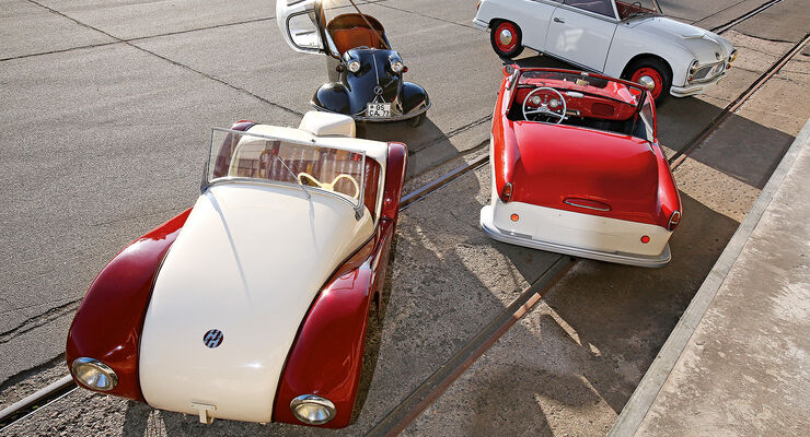 kleinwagen der 50er die lieben kleinen auto motor und sport. Black Bedroom Furniture Sets. Home Design Ideas