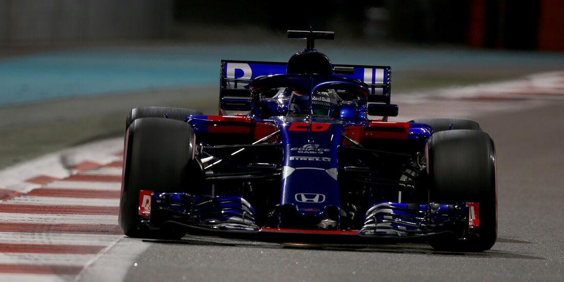 Brendon Hartley - Formel 1 - GP Abu Dhabi 2018