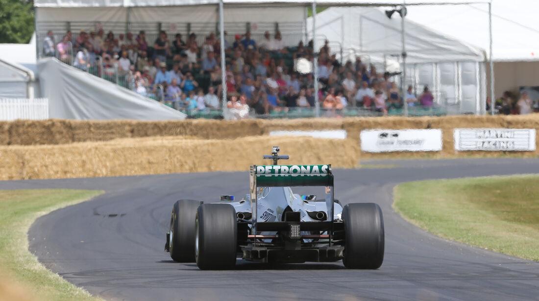 Brendon Hartley - Mercedes - Goodwood 2013