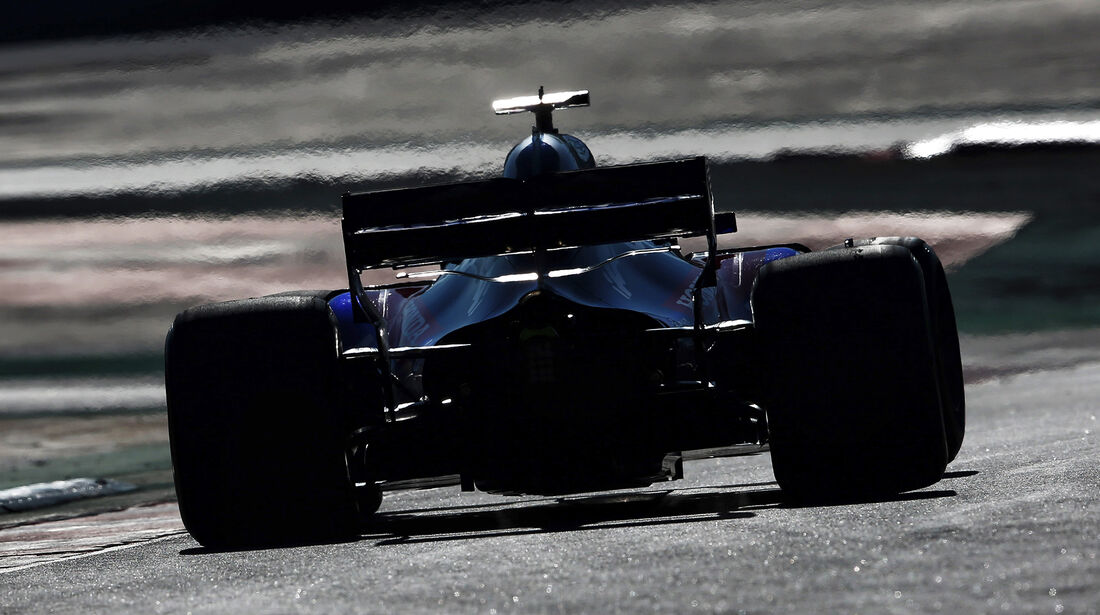 Brendon Hartley - Toro Rosso - F1-Test - Barcelona - Tag 8 - 9. März 2018