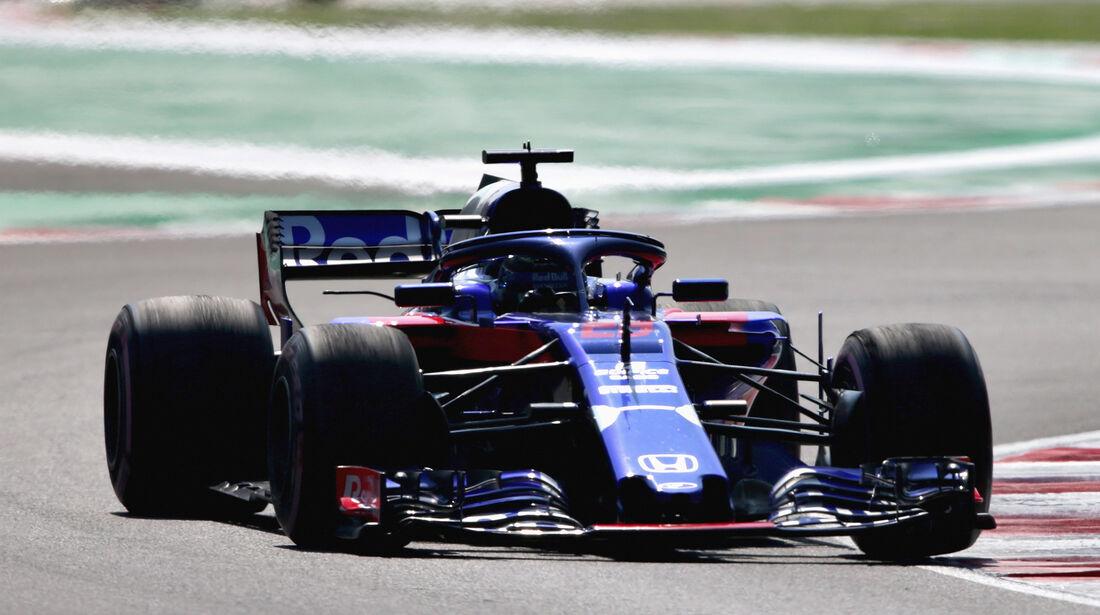 Brendon Hartley - Toro Rosso  - Formel 1 - GP Mexiko - 26. Oktober 2018