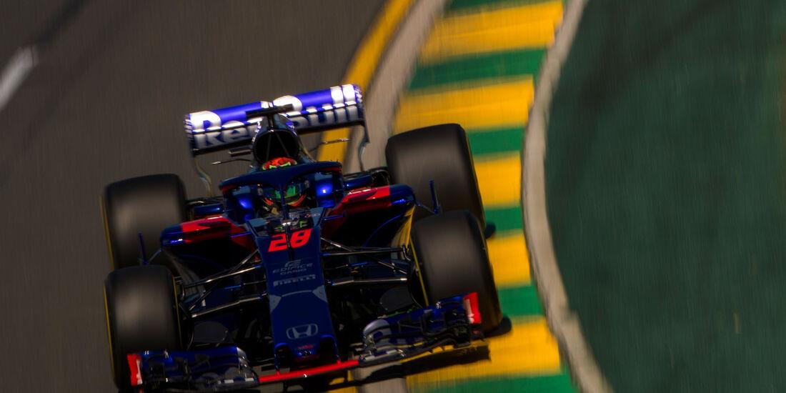 Brendon Hartley - Toro Rosso - GP Australien 2018 - Melbourne - Albert Park - Freitag - 23.3.2018