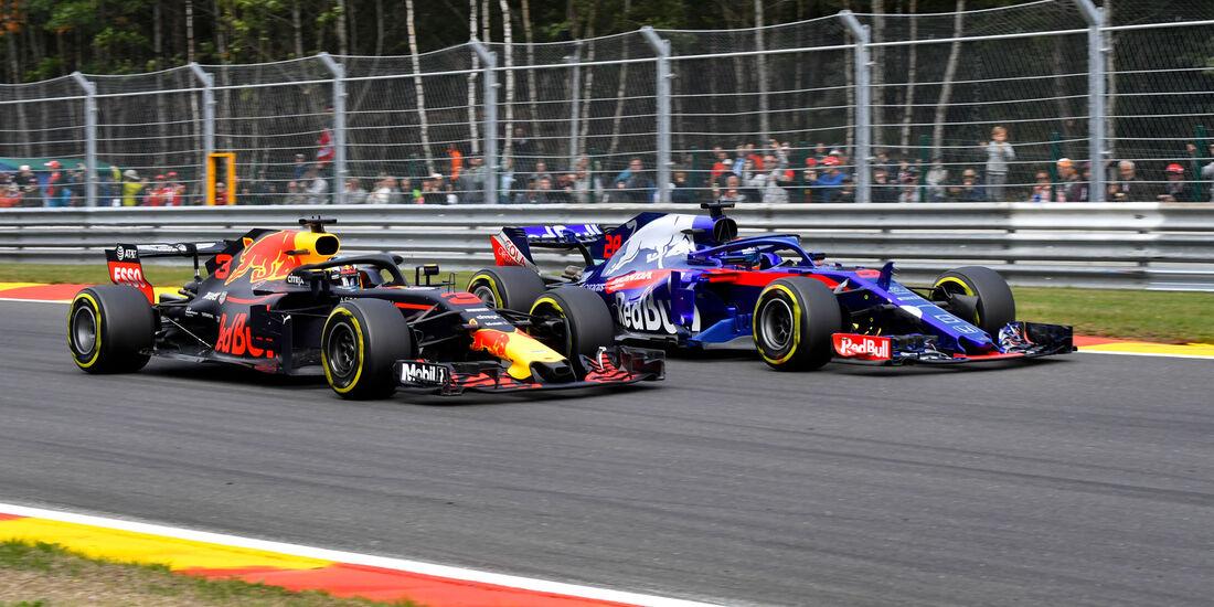 Brendon Hartley - Toro Rosso - GP Belgien 2018 - Spa