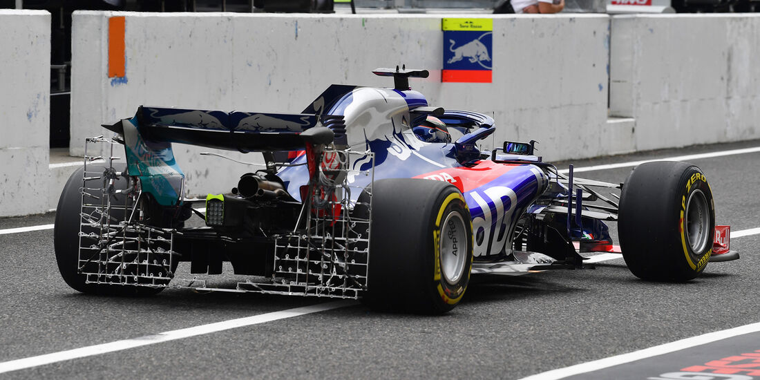 Brendon Hartley - Toro Rosso - GP Japan - Suzuka - Formel 1 - Freitag - 5.10.2018