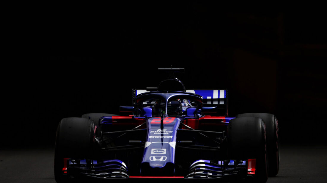 Brendon Hartley - Toro Rosso -  GP Monaco - Formel 1 - Donnerstag - 24.5.2018