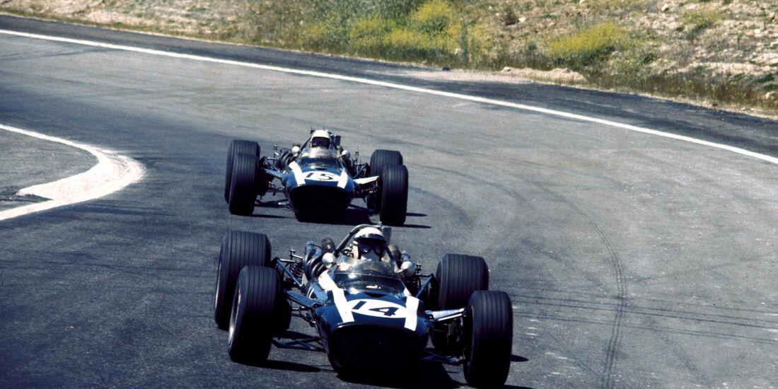 Brian Redman - Cooper BRM T86B - Ludovico Scarfiotti - GP Spanien 1968 - Jarama