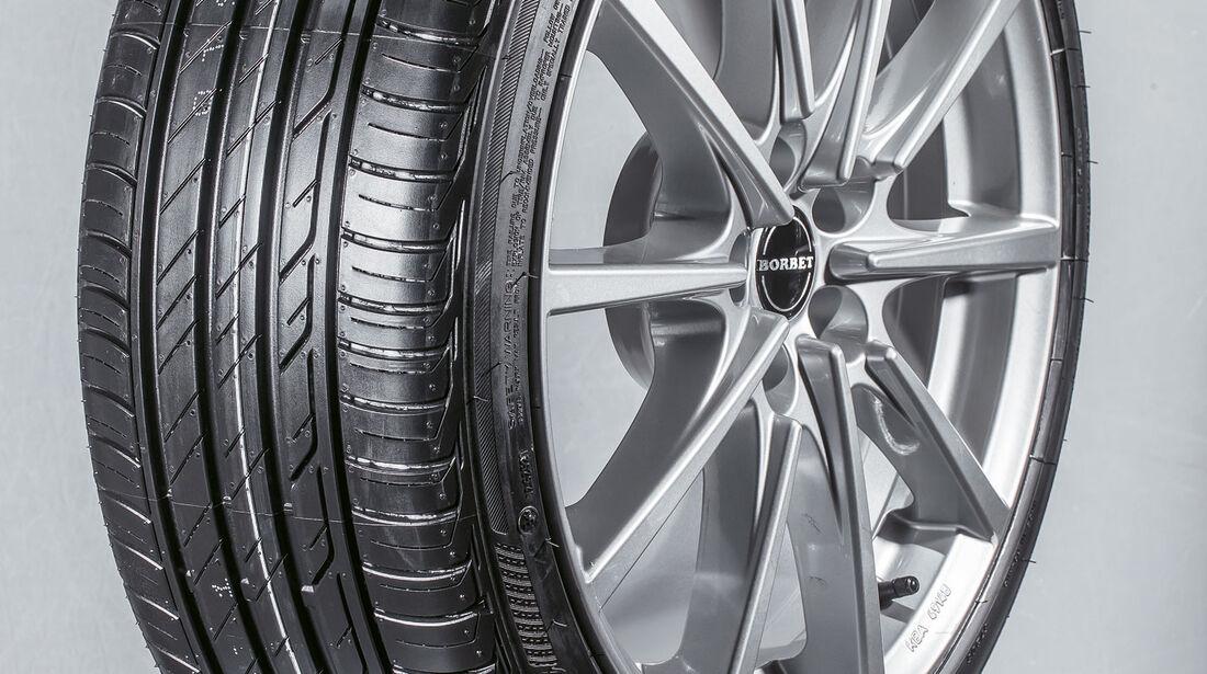 Bridgestone Turanza T001 - Sommerreifen 2017 - Test