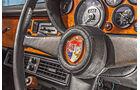 Bristol 412 SII Zagato, Lenkrad