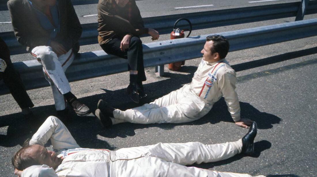 Bruce McLaren und Denis Hulme 1969