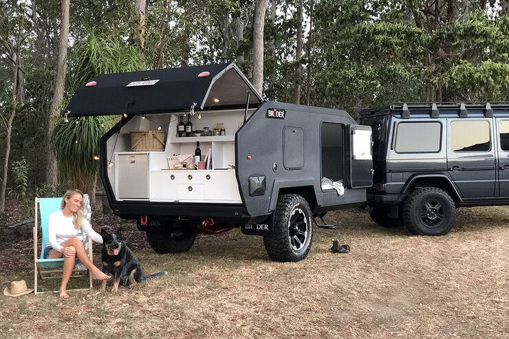 Bruder Exp 4 Offroad Caravan Hardcore Camper Aus Down