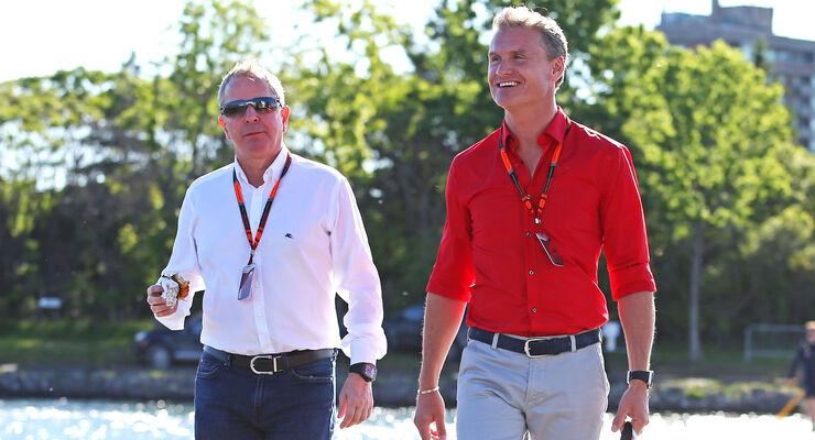 Brundle & Coulthard - GP Kanada 2015