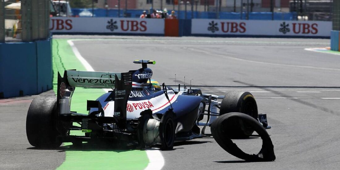 Bruno Senna  - Formel 1 - GP Europa - 24. Juni 2012