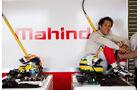 Bruno Senna - Formel E-Test - Donington - 07/2014
