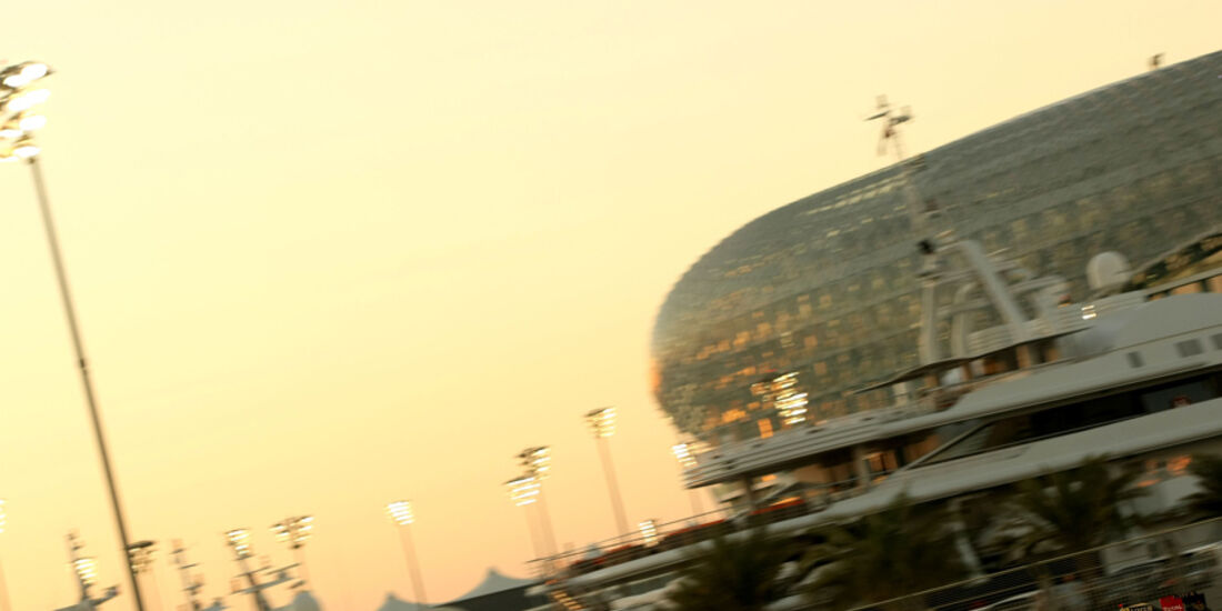 Bruno Senna - GP Abu Dhabi - Freies Training - 11. November 2011