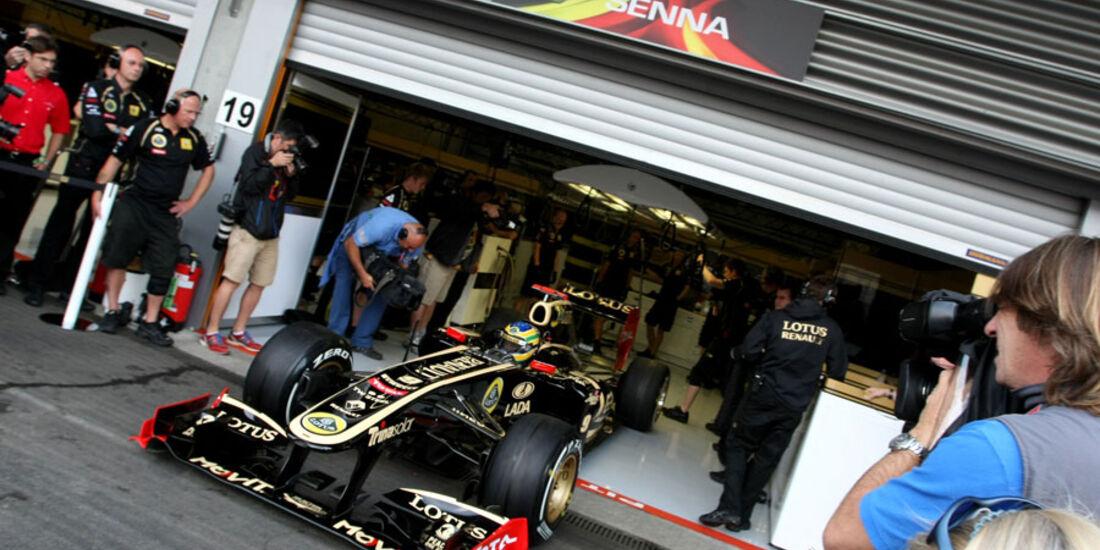 Bruno Senna - GP Belgien - 26. August 2011