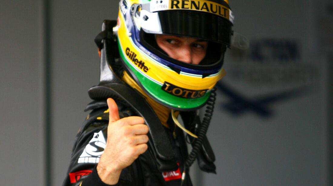 Bruno Senna - GP Brasilien - 26. November 2011