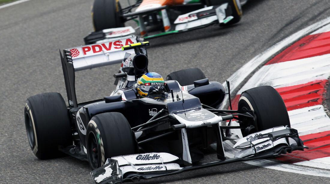 Bruno Senna GP China 2012