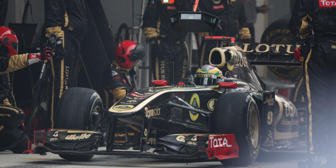 Bruno Senna GP Indien 2011