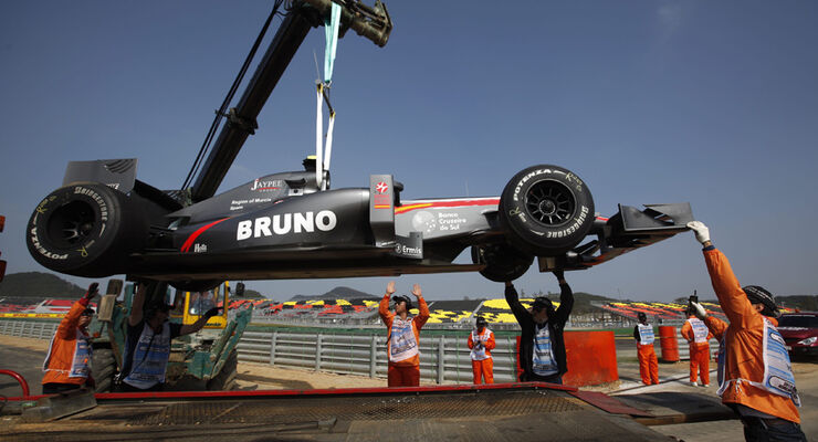 Bruno Senna - GP Korea 2010
