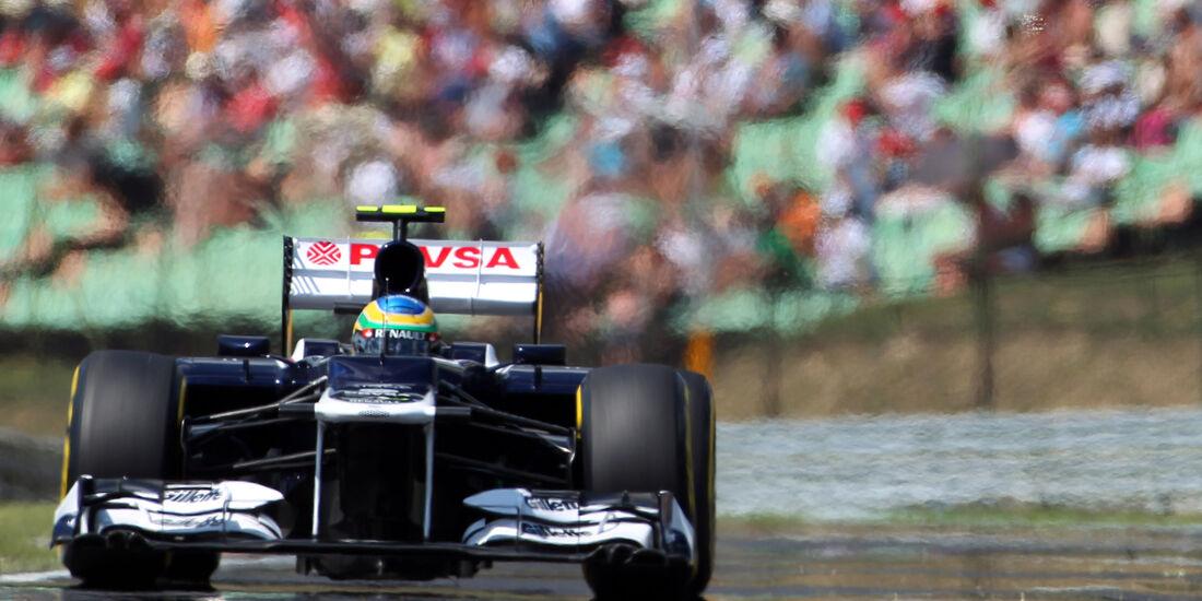 Bruno Senna GP Ungarn 2012