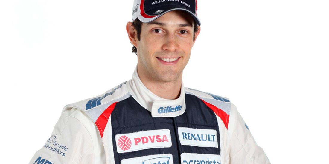 Bruno Senna Porträt 2012