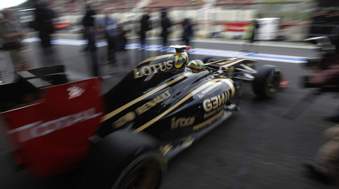 Bruno Senna Renault GP Belgien 2011