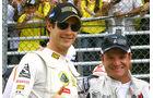 Bruno Senna Rubens Barrichello 2011