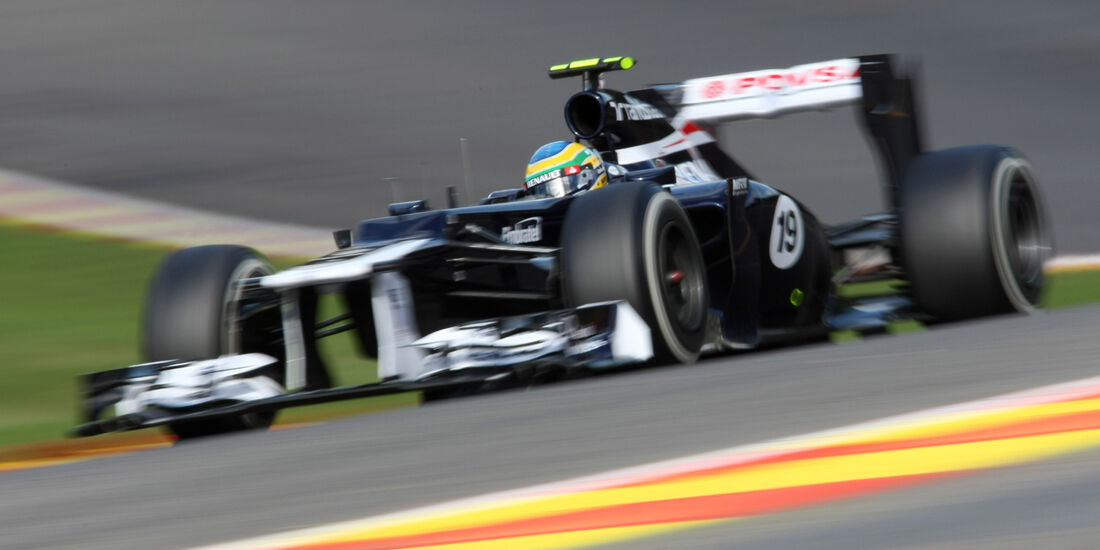Bruno Senna - Williams - Formel 1 - GP Belgien - Spa-Francorchamps - 1. September 2012