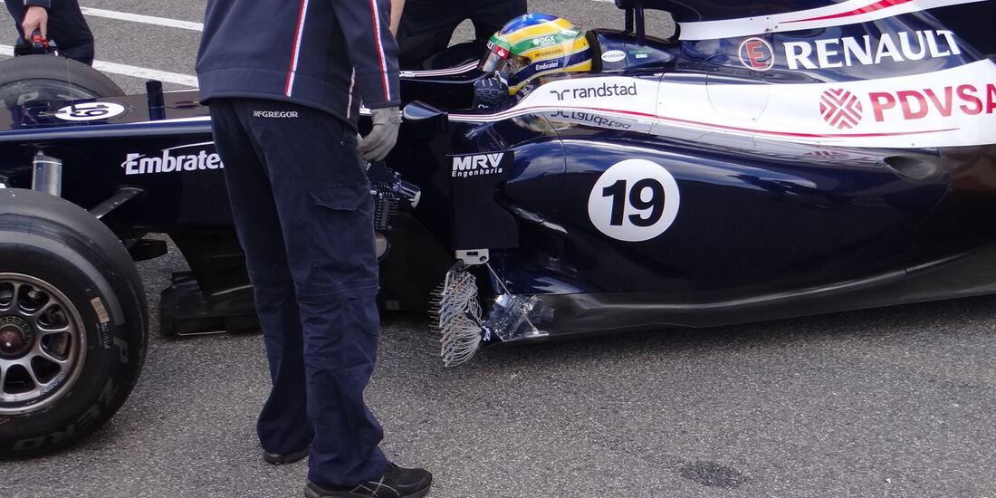 Bruno Senna - Williams - Formel 1-Test - Mugello - 2. Mai 2012