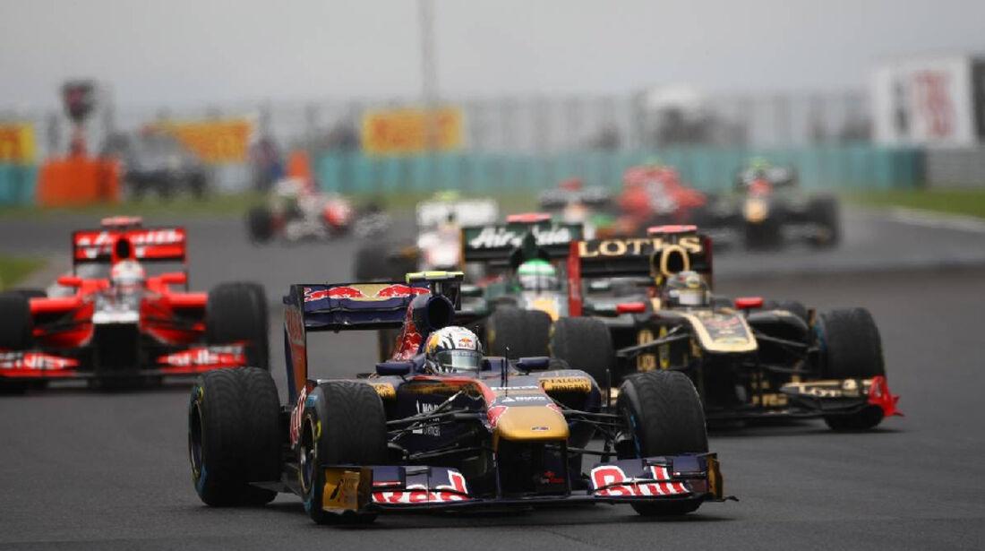Buemi - GP Ungarn - Formel 1 - 31.7.2011 - Highlights