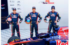 Buemi, Ricciardo & Alguersuari