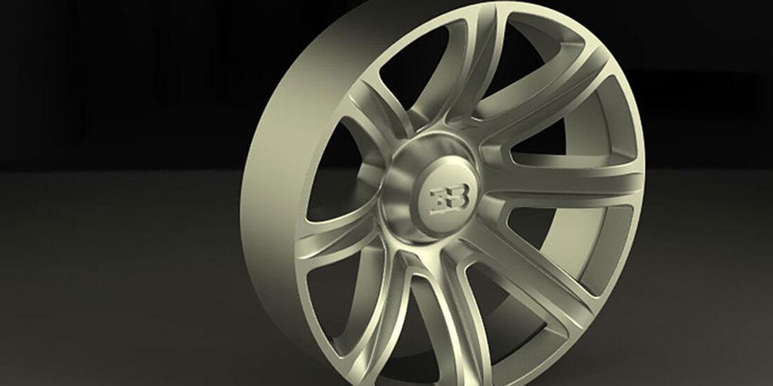 Bugatti Aerolithe Concept Felge