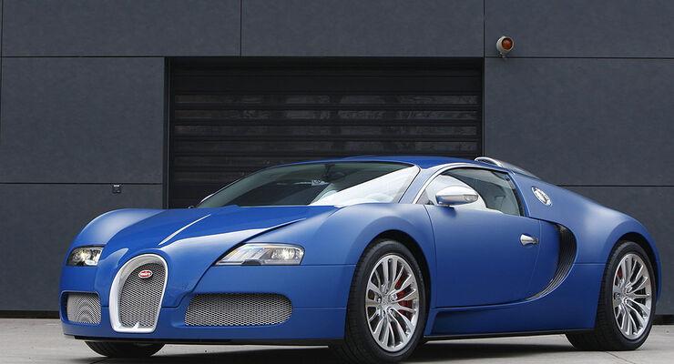 Bugatti Bleu Centenaire