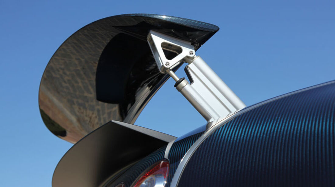 Bugatti Veyron 16.4 Super Sport, Spoiler